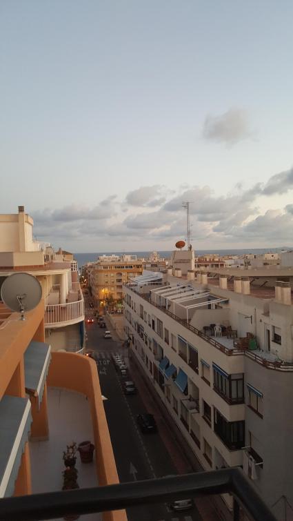Utsikt från terrassen.