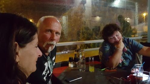 Christel, Leif och Pia.